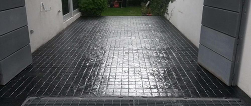 Pisos de concreto en exteriores
